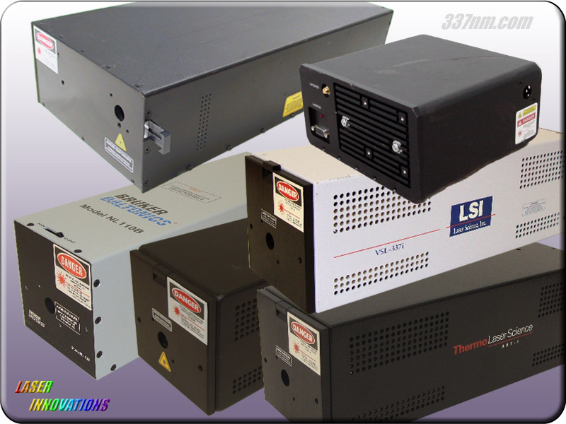 VSL337 Nitrogen Lasers    337nm.com    Laser Innovations